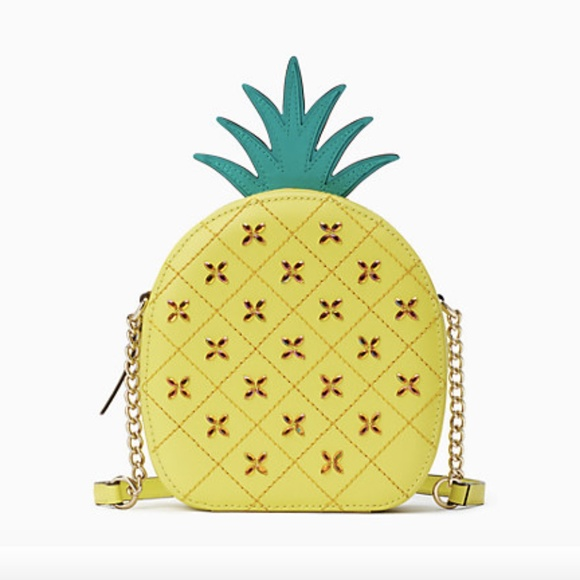 Kate Spade refreshing pineapple crossbody handbag